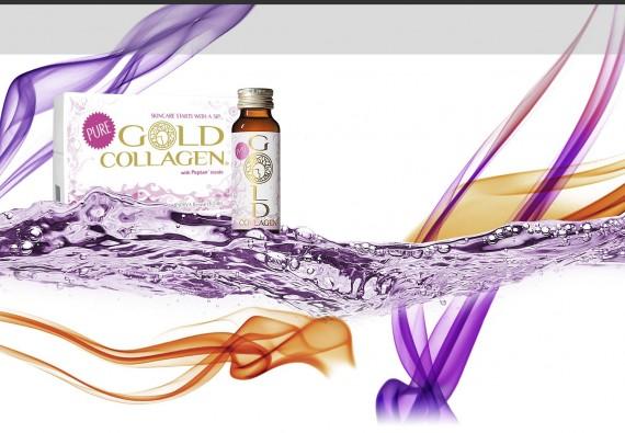 GOLD COLLAGEN - řada tekutých beauty doplňků stravy exkluzivně v RVmedCentru!